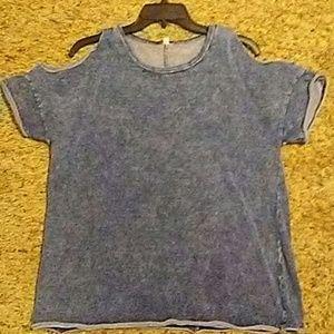 Cut out sweat shirt